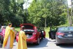 Blessing of Cars followed by Hot Dogs and Ice Cream!