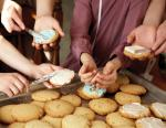 Church School Teens Cookie Baking